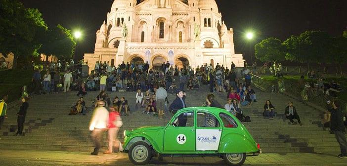 Tour en Citroen 2CV Paris