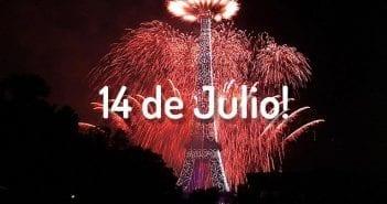 Celebraciones 14 de Julio en Paris