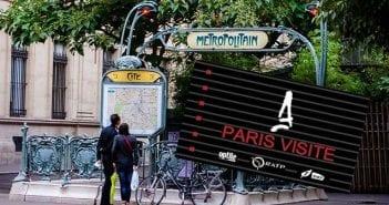 Tarjeta Transporte Paris Visite
