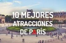 10 MEJORES ATRACCIONES DE PARÍS