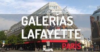 GALERIAS LAFAYETTE EN PARIS
