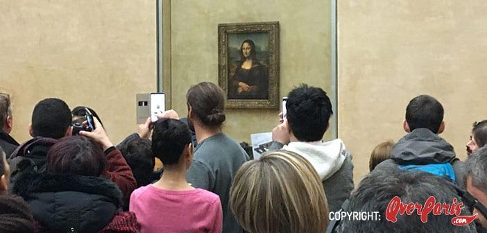 Museo del Louvre Davinci - Monalisa