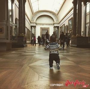 Visitar Museo del Louvre con niños