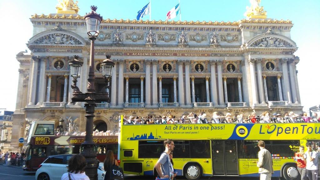 Autobús de Open Tour París