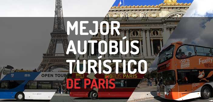 Mejor autobus turistico de Paris