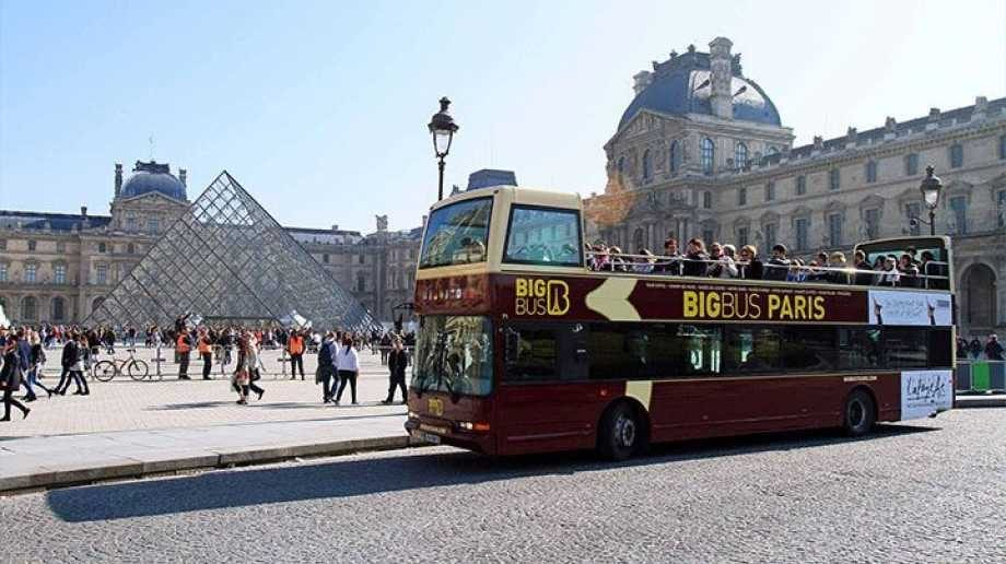 Autobus Turistico de Paris Big Bus tours