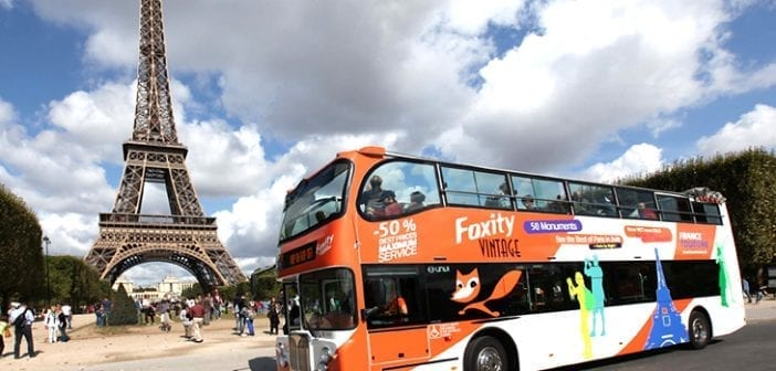 Bus Turistico Paris Foxity
