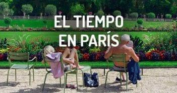 Qué tiempo hace en París