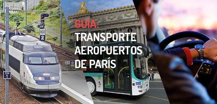 Transporte Aeropuertos de París