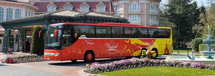Autobús Magical Shuttle Disneyland París
