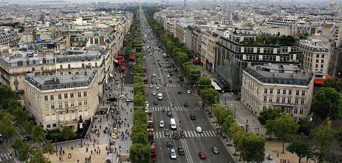 París en 3 días Campos Eliseos