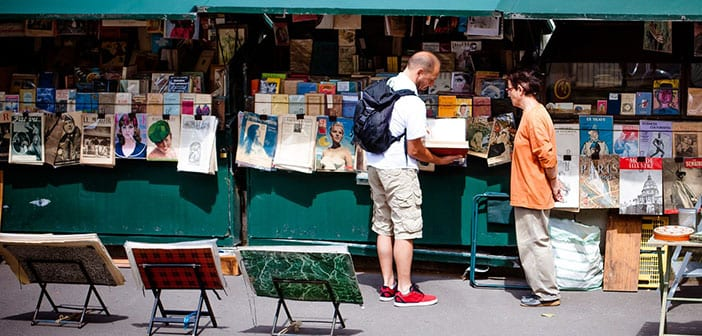 París en 3 días Mercados